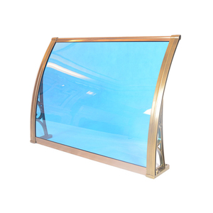 PC awning outdoor awning rain shelter new plastic roffing material