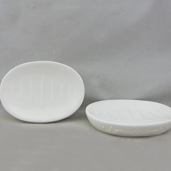 Bathroom Set Soap Dish Ceramic Holder