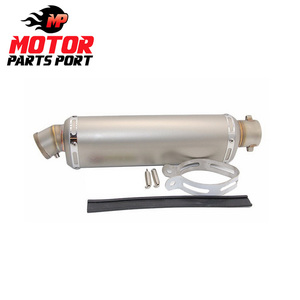 Suitable for ATV trx350 type universal motorcycle exhaust muffler