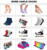 DL-I-0287 ankle socks for ladies girls ankle socks teenage sexy girls ankle socks