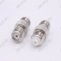 Rf Coaxial Connector N Type Adapter N Female To N Female Bulkhead ...