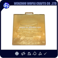 Top quality square popular sheet metal craft