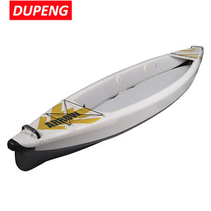 Wholesale 420CM /340CM Arrow 2 Person Inflatable Canoe Fishing Kayak
