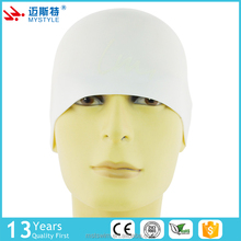 Cheap price custom top sale professional made silicone swim caps