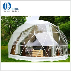 5m diameter Geo dome house canvas rest dome tent for glamping