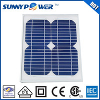 New design 10w portable solar panels made in China