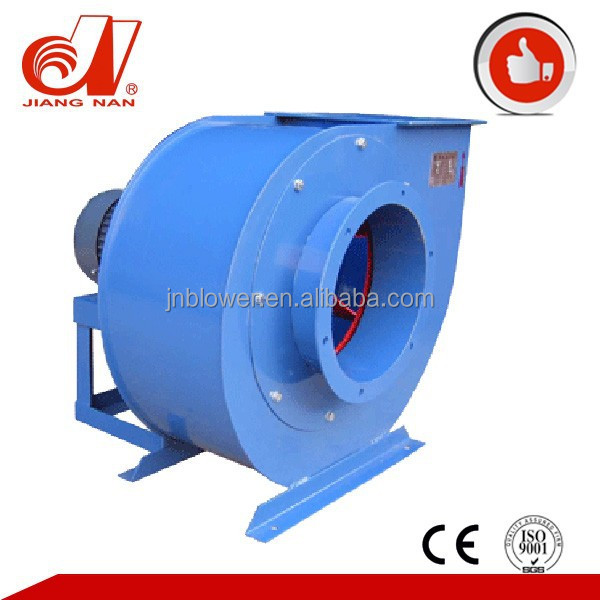 powerful 15Kw industrial centrifugal wood chip suction exhaust fan blower
