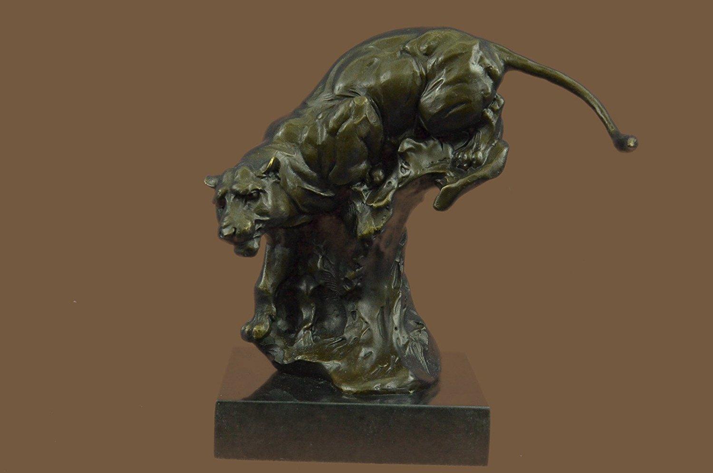 HandmadeEuropean Bronze Sculpture Signed Lambeaux
