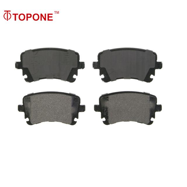 4 Rear Ceramic Brake Pads Fits ES300h ES350 HS250h Vibe Avalon Camry Matrix RAV4