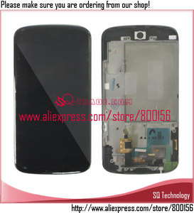 for LG Nexus 4 E960 LCD Touch Screen Digitizer Replacement with Frame Assembly