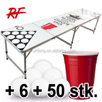Beer Pong Table Folding Party Supplier