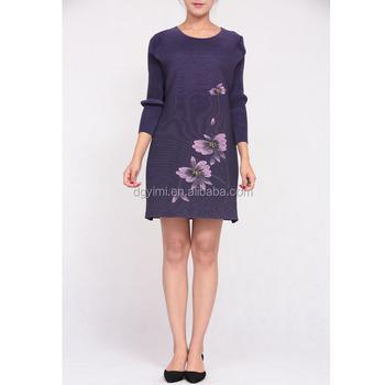 Pintado A Mano Prensado Plisado Ropa Vestido De Verano Buy Vestido Pintado A Manoprensado Plisado Vestidoropa Product On Alibabacom