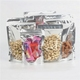 Stand Up Pouch Bags Clear Front with Aluminum Foil Back - Resealable Ziplock and Heat Sealable for Food Storage