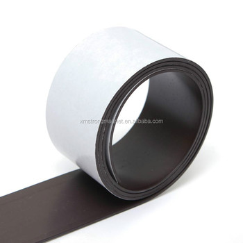 Self Adhesive Flexible Magnetic Strip Strong Magnet Tapes