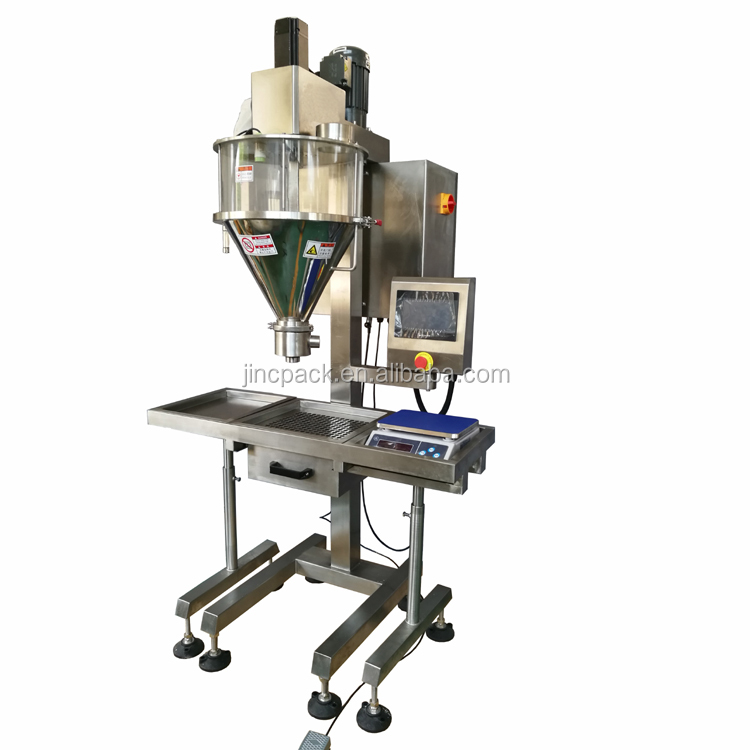 Semi automatic food grade Spices Powder packaging machine for sugar