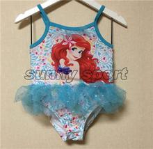 397ade2aa365b Sirena Etude Kid Ariel traje de baño de una pieza Baño de dibujos animados  Monster High