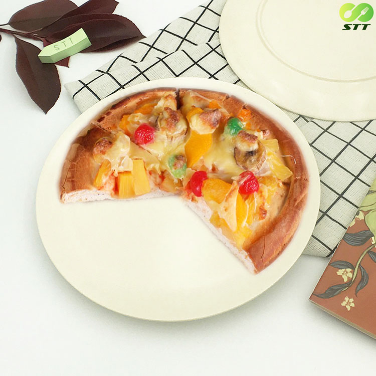 100% Natural melamine dishes cheap charger plates for restaurant