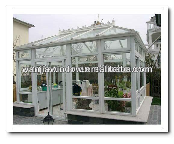 Wanjia giardino serre usate per la vendita sunroom e la for Serre agricole usate in vendita