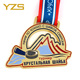 Cheap gold sports Russia medal holder custom