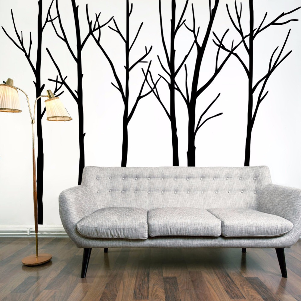 ab0d698ce5 Simple Fashion Tree Branches DIY Art Home Decor Vinyl Living Room Sofa  Background Wall Decals Large Size Tree Wall Stickers ~ Simple Home Decor ~  Olivia ...