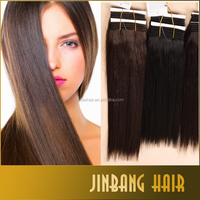 Premium Hair Noble Gold Better Yaki Straight Synthetic Hair Extensions Weave Weft