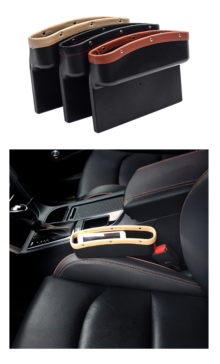SN-X-050 Different types car seat gap filler document  organizer