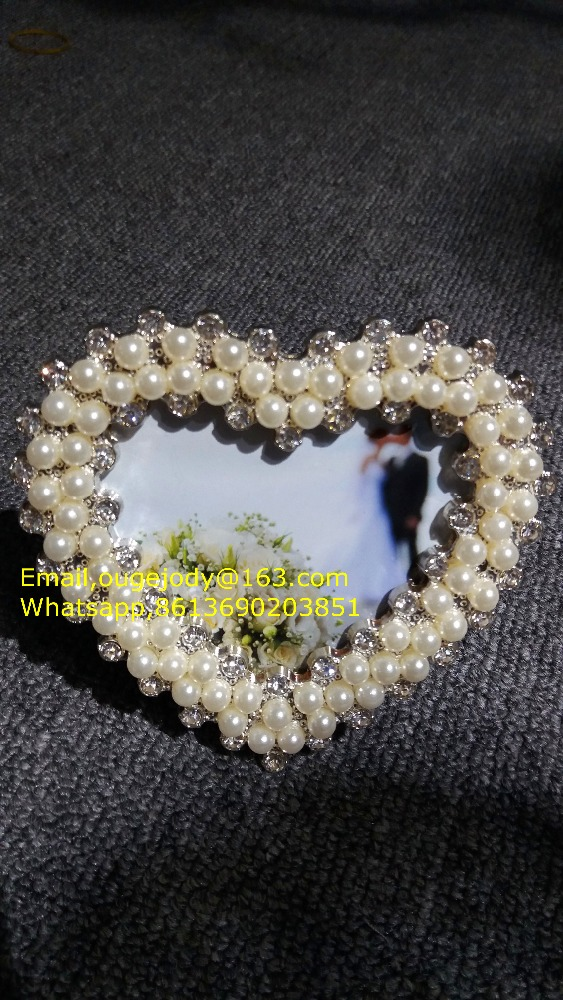 small heart-shaped picture frame