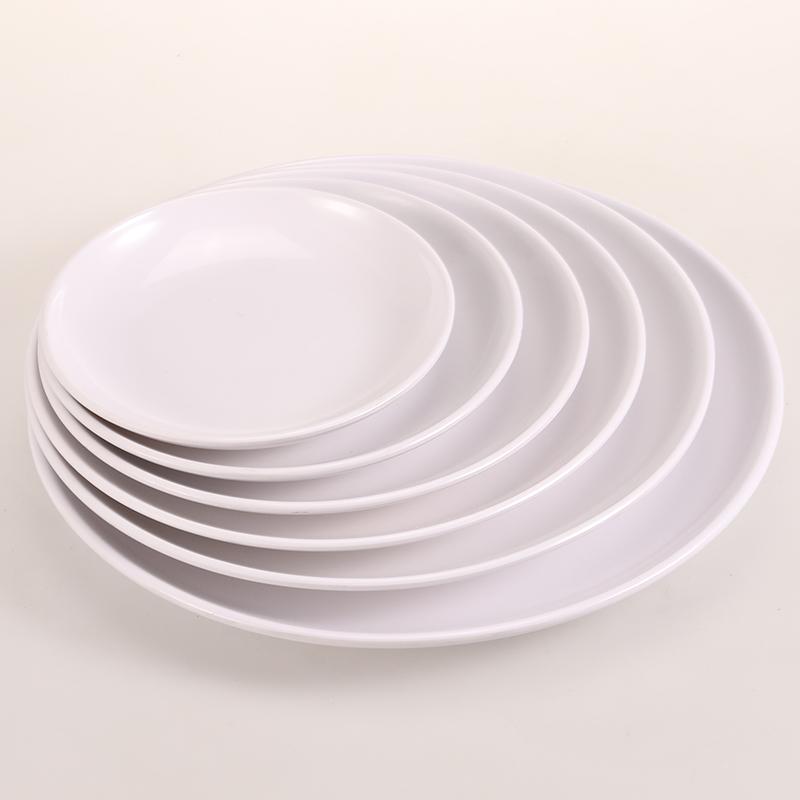 Whole White Melamine Plates Dinner Set Brands