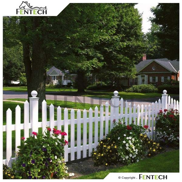 High quality popular cheap plastic fence ornaments