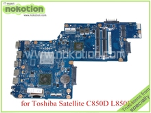 "H000052450 For toshiba satellite C850 C850D L850D Laptop motherboard 15.6"" DDR3 EM1200 CPU Onboard"
