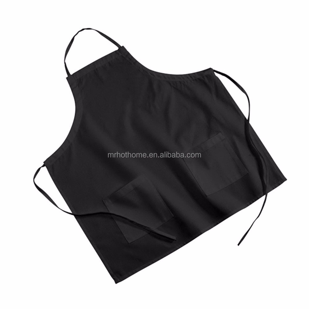 chef cooking kitchen 100% cotton promotional apron with custom logo