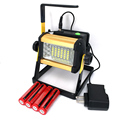 Powerful 30W Flood Lights Rechargeable led portable Flood light lamp IPX67 Outdoor Camping Lantern spotlight Battery