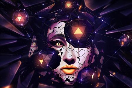 dark emo gothic fetish girl girls vampire cyber goth 2 Home Decoration Canvas Poster