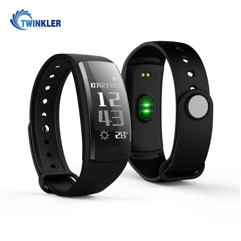QS90 Blood Pressure Heart Rate Monitor Blood Oxygen Monitor IP67 Fitness Tracker Smart Bracelet for Andriod IOS