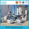 usa style l shape rattan soft sofa set home casual outdoor furniture
