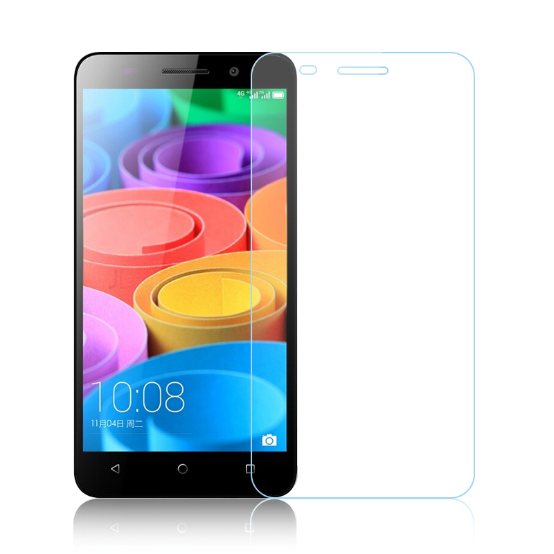 Pelicula de vidro 9H 2.5D 0.26mm Screen Protector Anti-Explosion Transparent protector film for HUAWEI Honor 4X Tempered Glass