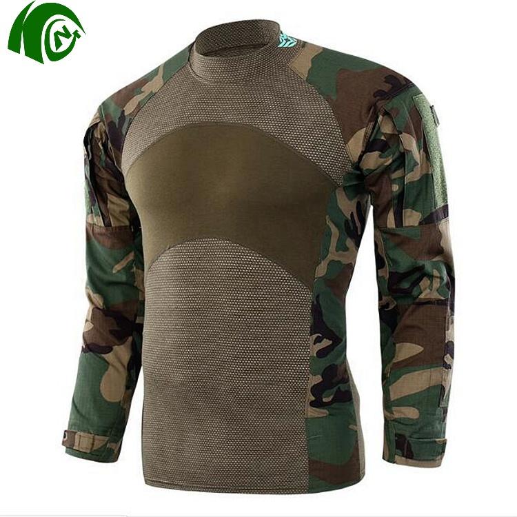 Mens Tactical Camo Combat Airsoft Suit Set Jacket Pants  Military BDU Uniform