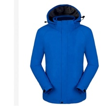 Ready to ship ปรับแต่ง mens กลางแจ้ง softshell hooded jacket