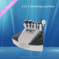 portable face lift machine/6 heads vacuum cavitation rf system