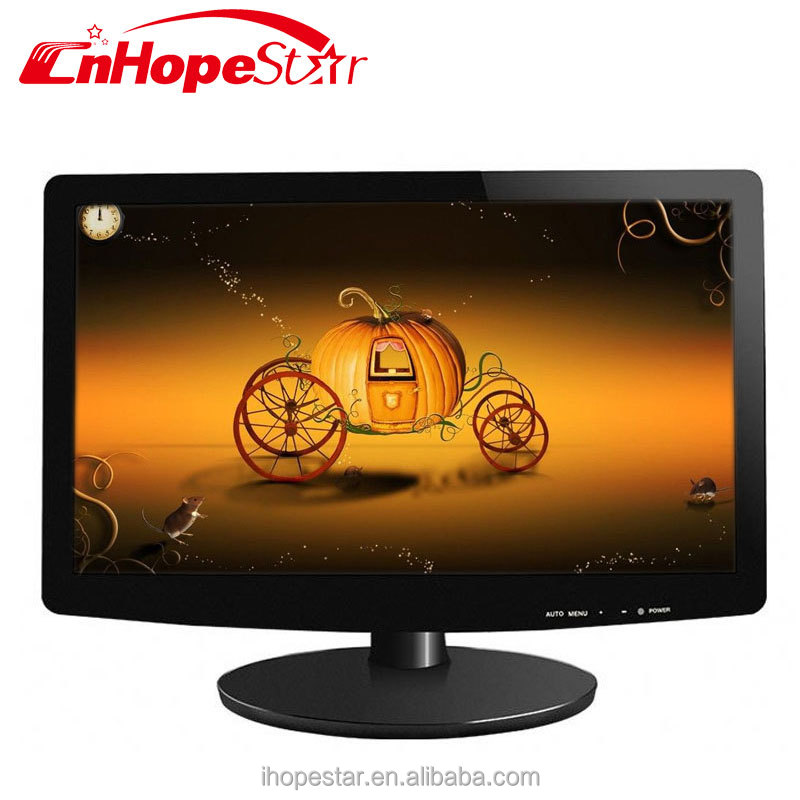 15.6 inch portable lcd pc monitor with hd mi wallmounted monitor bus