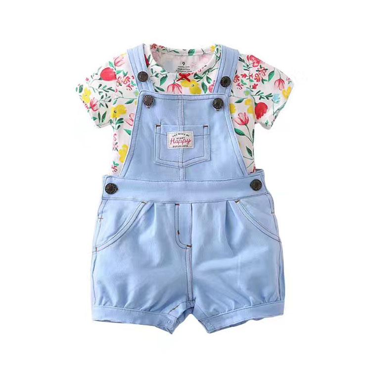 74737d3438768 السائبة الجملة الاطفال الملابس 100% ٪ تناسب تصميم الوليد بيبي الملابس