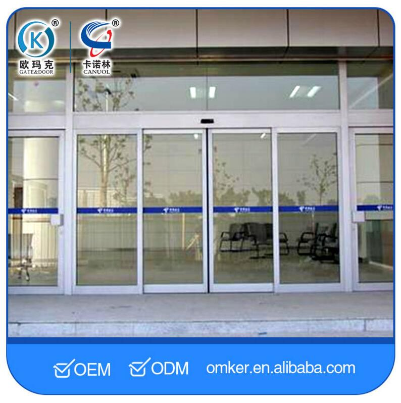 High Efficiency Best Sell Automatic Glass Office Entry Door