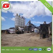 Besr price 25m3 mobile concrete batching mixing plant mobile self-loading concrete mixer