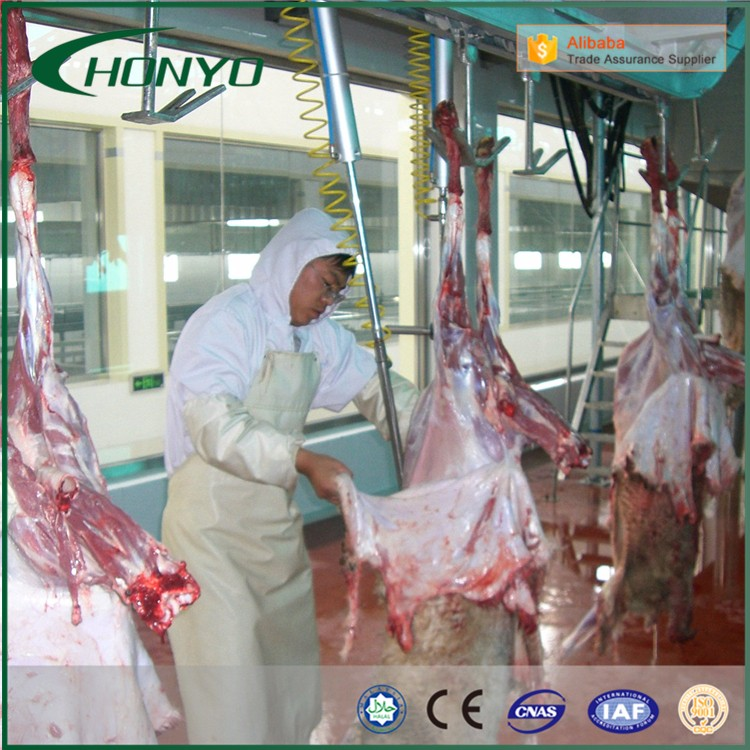 Professional Sheep And Pig Slaughtering Equipment Slaughtering Machinery Slaughter Lines