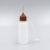 10ml 15ml clear plastic dropper bottle with metal long needle tip