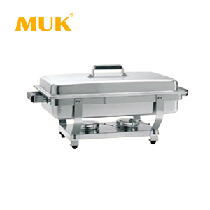MUK restaurant luxury electric stainless steel buffet food warmer chafing dish