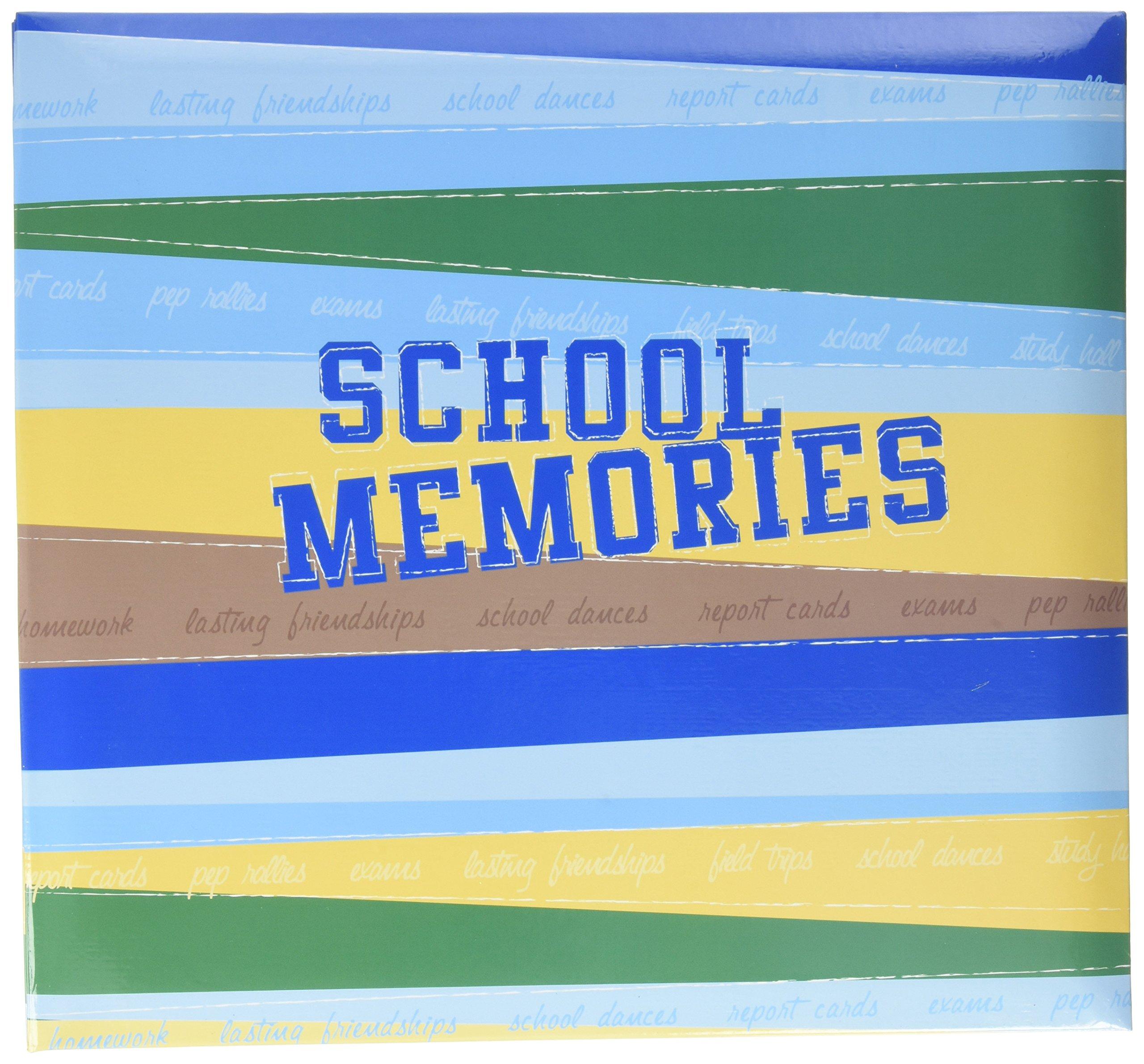 12 by 12-Inch MBI School Days Album Yellow