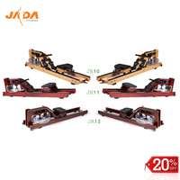 2018 Hot Sale High Quality Cardio Gym Fitness Equipment OAK Wood Commercial Water Rower Rowing Machine