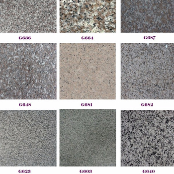 Diffe Kinds Of Granite
