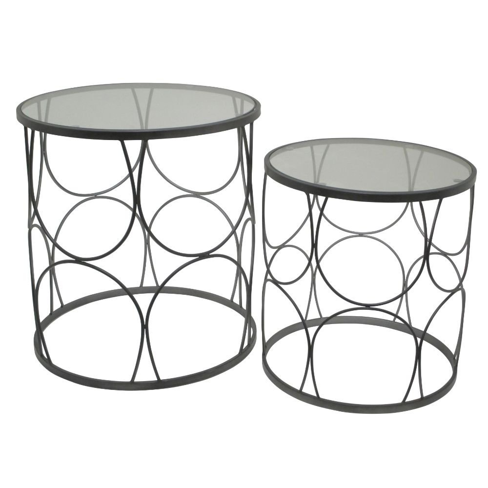 Benzara HRT-28455 Stunning Metal Table
